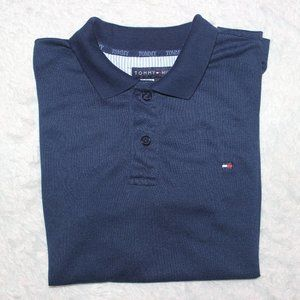 Tommy Hilfiger Polo Shirt Men  M Navy Blue
